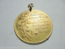 27115 Medal Musica est imago Animae al Maestro Alfeo Buja i Suoi Musicante 1912