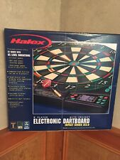HALEX ELECTRONIC DARTBOARD 8 Player 22 Games 85 Level Variations New