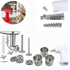 For KitchenAid Cuisinart Mixer Meat Grinder Sausage Juicer Slicer Attachment