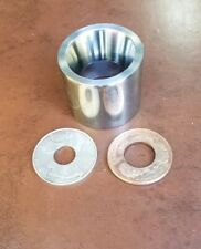 """1.6"""" & 1.535"""" DOUBLE SIDED 17° COIN RING MAKING TOOLS DIE"""