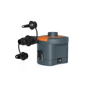 Bestway Sidewinder D CEL Air Pump Electric 3 Valve Adaptors Inflates & Deflates