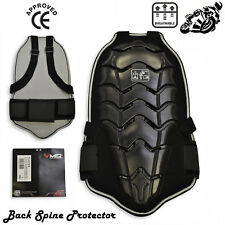 Motorbike Back Spine Armour Protector Snow Boarding Skating Body Guard Armoured