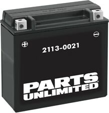 Parts Unlimited 2113-0043 AGM Maintenance-Free Battery YTX16CLB-BS