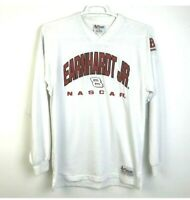 Nascar Dale Earnhardt Jr Men's Medium Chase Authentics Budweiser Shirt White Red