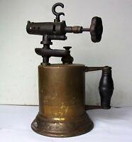 Antique Vintage M.W. & Co Brass Soldering Blow Torch