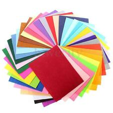 28pcs Mixed Color Soft Nonwoven Felt Fabric Sheets DIY Craft Patchwork 30x30cm