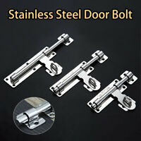 Heavy Duty Garden Gate Shed Sliding Door Tower Bolt stainless steel door bolt