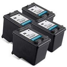 Recycled HP 56 ink (C6656AN) Black for HP OfficeJet 5510 6110 PSC 2410 4PK