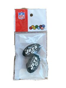 JIBBITZ NEW YORK JETS - NFL  - SHOE CHARMS - CROCS NEW IN PACKAGE
