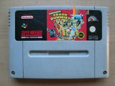 Super Nintendo - SNES - Crash Dummies - Game ONLY