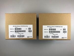 New- HP/ HPE LTO-7 Tape Cartridge (10 PACK) C7977A Backup Storage  6TB/15TB