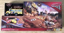 Disney Pixar Cars 3 Crazy 8 Crashers Smash Crash Derby Playset Miss Fritter Bus
