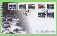 New Zealand 2010 Scenic Definitives on First Day Cover