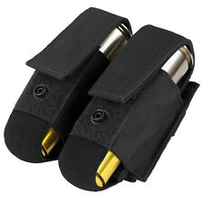 Condor OD Black Double M203 40mm Grenade Airsoft Launcher Shell Pouch Ma13-002