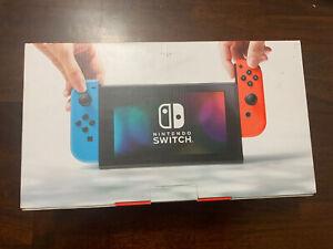 Nintendo Switch w/ Neon Blue & Red Joy‑Con 32GB