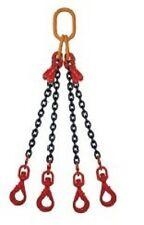 1m Élingue chaîne 4 brins  grade 80 Raccourcisseur crochet automatique