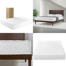 "8"" Full Size Spring Foam Mattress Bed in a Box Bedroom Foam Bedding Innersprings"