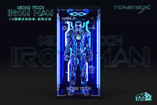1/6 Scale TOYS-BOX Hangar 4.0 Tron Edition Box Case Model F Iron Man MK4 Figure