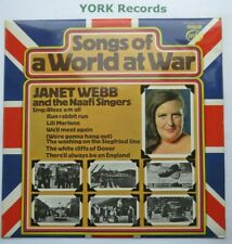 SONGS OF A WORLD AT WAR - Janet Webb - Excellent Condition LP Record MFP 50063