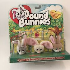 Vintage 1997 Galoob Pound Bunnies