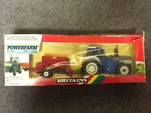VINTAGE BRITAINS FARM 9381 POWERFARM FORD TW-35 TRACTOR & VICOM SPREADER MIB