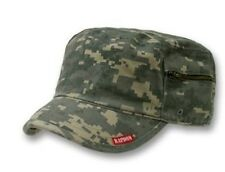 CAMO ARMY MILITARY GI BDU ZIPPER POCK PATROL CAP HAT UD