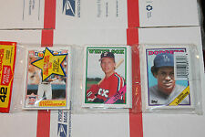 1988 Topps Rack  Baseball Packs!! Vintage unopened Lot.