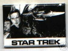 great old Star Trek pin HUGE BUTTON orig cast