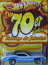 HOT WHEELS - FAHRZEUGE DER JAHRZEHNTE (CARS OF THE DECADES) '71 PLYMOUTH GTX MOC