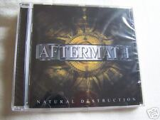 """Aftermath """"Natural Destruction"""" 2003 Hard Rock CD from New Jersey USA"""