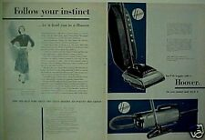 1951 Hoover Vacuum Sweeper Household Appliance Print AD