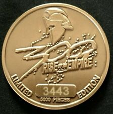300 rise of an empire coin numbered 3443 of 5000