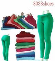 Women's Fashion Causal Slim Stretch Skinny Soft Pant Pockets Size S M L XL NWT