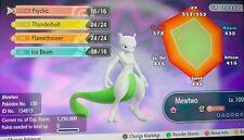 Shiny Mewtwo 6IVs Shiny Let's Go Pikachu Let's Go Eevee
