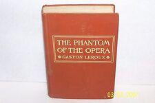 The Phantom of the Opera Gaston Leroux USA 1911 H/C illustrated Andre' Castaigne