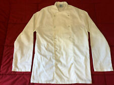 Chef's Jacket Unisex Coat Chef Uniform Kitchen Long Sleeve + cooking apron free