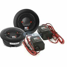 """MB QUART 360W 3/4"""" Titanium Dome Tweeters with 12DB In-Line Crossover 