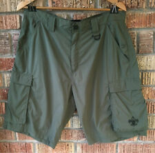 BSA BOY SCOUTS Centennial Nylon Shorts Size Adult Medium