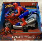 Spider-Man RC Remote Control Motorbike 27 mhz NEW disney Marvel far from home