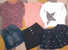 Girls Gorgeous bundle of 3 tops & 3 skirts  Age 5-6 Years Excellent Condition