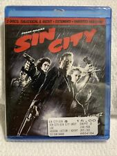 Sin City (Blu-ray 2-Disc Theatrical & Recut, Extended, Unrated) Sealed New 186