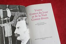 MAUPASSANT YVETTE CONTE DU JOUR ET DE LA NUIT CONTES DIVERS   ILLUSTRATIONS