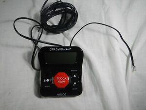CPR V5000 Call Blocker Block All Robocalls Landline Political and Sales Calls