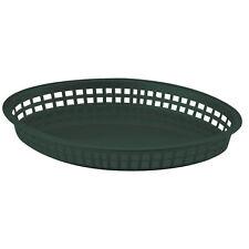 TableCraft 1086Fg Texas Platter Basket 12.75in x 9.7in Green 1 Dz