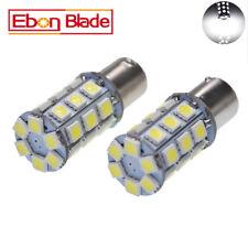 2 X 1156 BA15S 27 SMD LED White Car Bulb Light Brake/Turn/Tail /Reverse Lamp 6V
