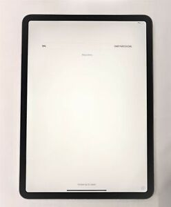 "Apple iPad Pro 11"" 1st Generation Space Gray 256GB Wi-Fi Only Tablet - AS IS"