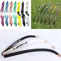 Archery Takedown Recurve Bow Limbs Bow Riser Handle Target Practice Shooting