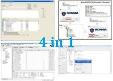 Scania * DEVELOPER TOOLS *  SDP3 Sops + Xcom + Ecom + Cdev + Time Fix PACKAGE