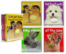 Bright Baby Touch and Feel On the Farm, Baby Animals, At the Zoo, Perfect Pet