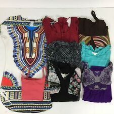 Wholesale Clothing Women Casual Lot Medium (9) Box Tops